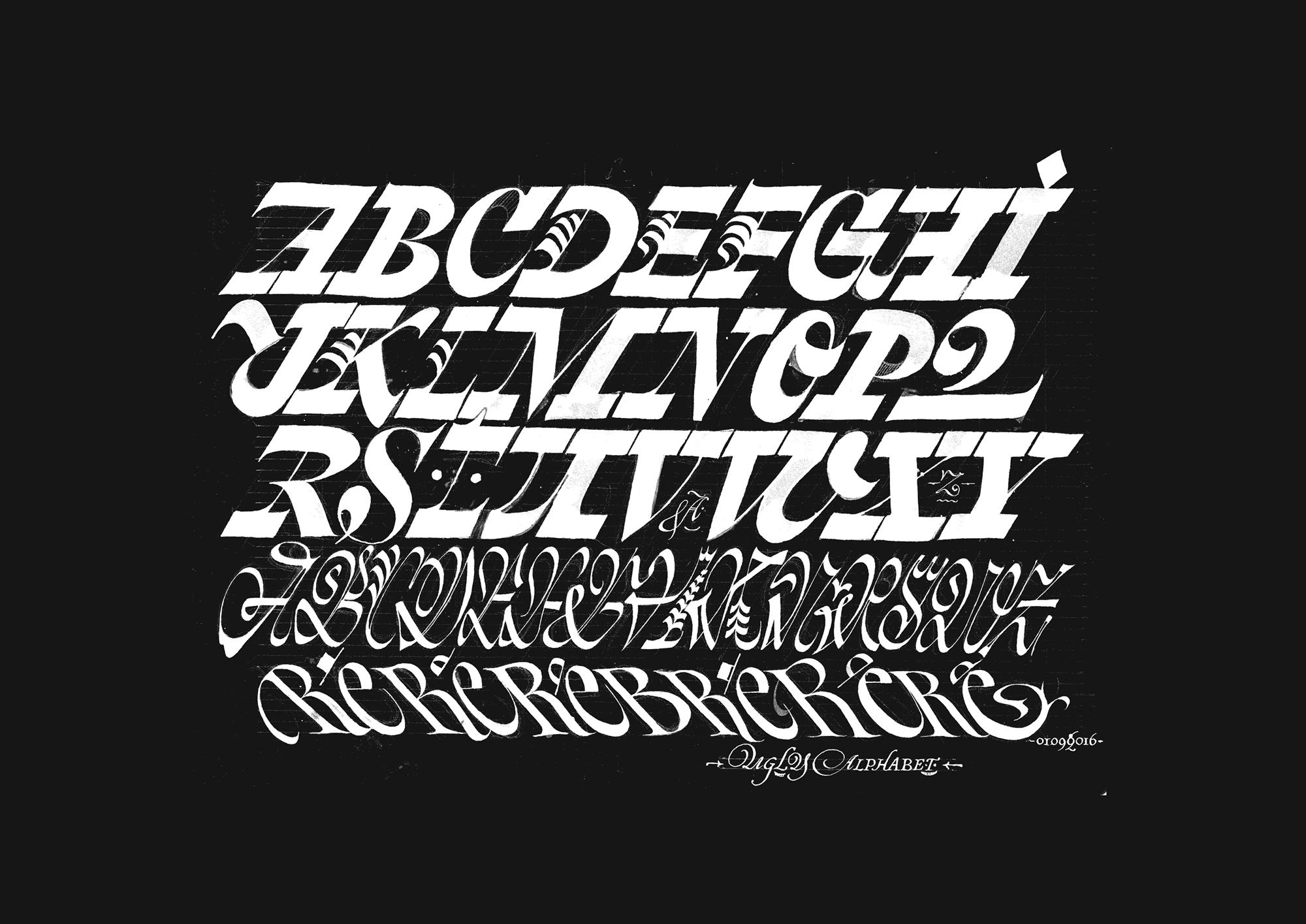 Typography, Julien Priez, Duelmagazine